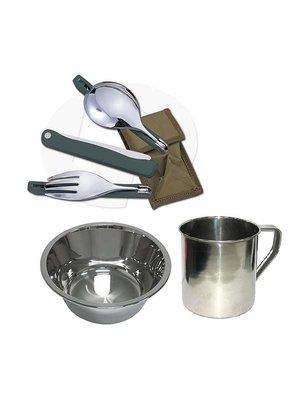 Набір посуду туристичний 5 в 1 | 2111921
