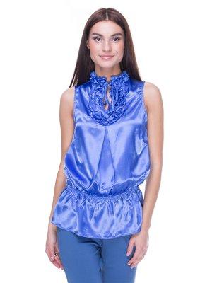 Блуза блакитна | 2109060