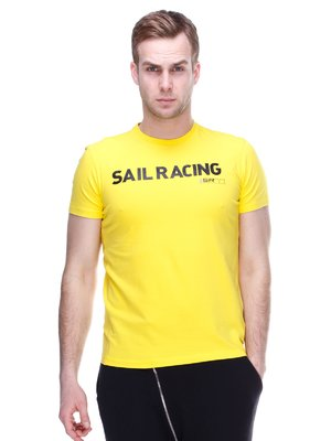 Футболка желтая с принтом | 2112712
