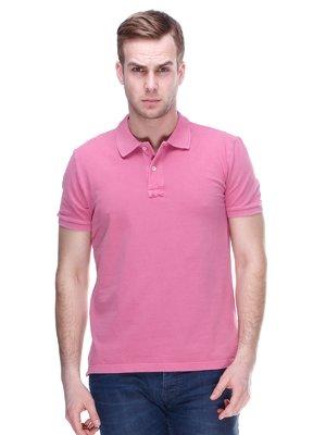 Футболка-поло розовая | 2112622