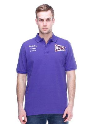 Футболка-поло фиолетовая | 2112624