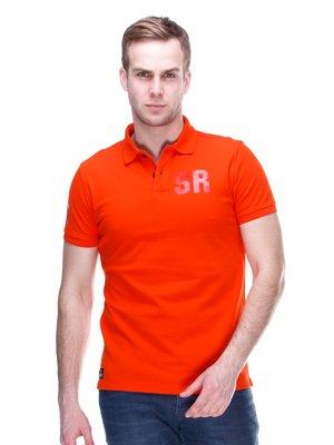 Футболка-поло оранжевая | 2112692