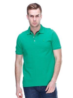 Футболка-поло зелена   2112435