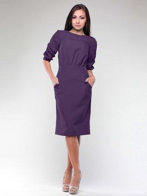 Платье темно-фиолетовое | 2126193
