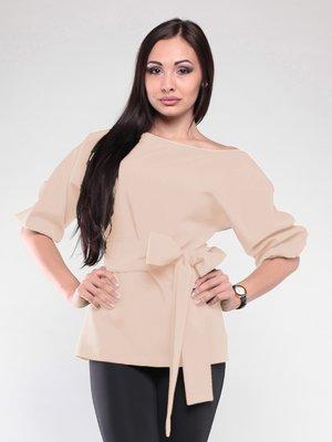 Блуза бежевая | 2126506
