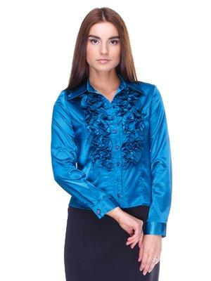 Блуза синя | 2150016