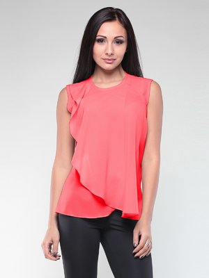Блуза коралова | 2147957