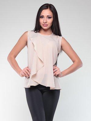 Блуза бежевая | 2147965