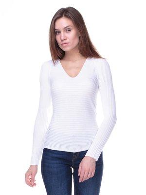 Пуловер білий | 2133178