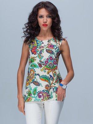 Блуза цветочной расцветки | 2170340