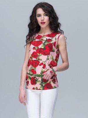 Блуза квіткового забарвлення | 2180484