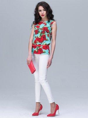 Блуза цветочной расцветки | 2180485