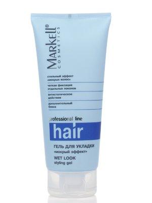Гель для укладання волосся «Мокрий ефект» (200 мл) | 2168655