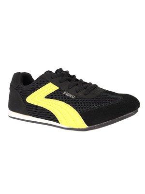Кросівки чорно-жовті | 2179620