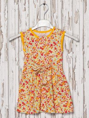 Сукня-халат в квітковий принт | 2174690