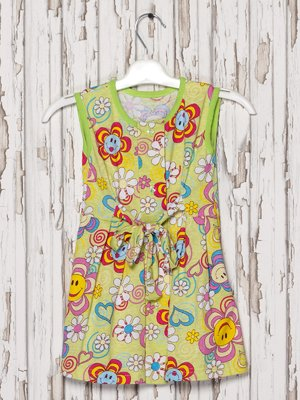Платье-халат в принт | 2174692