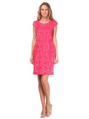 Платье цвета фуксии - Sassofono - 2181729