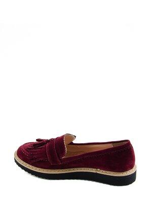 Туфли бордовые | 2183800