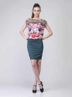 Сукня комбінованого забарвлення | 2184858