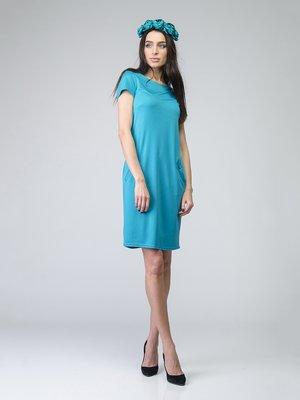 Платье бирюзовое | 2184925