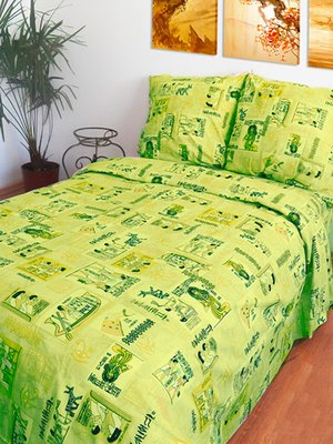 Комплект постельного белья двуспальный (евро)   2194041