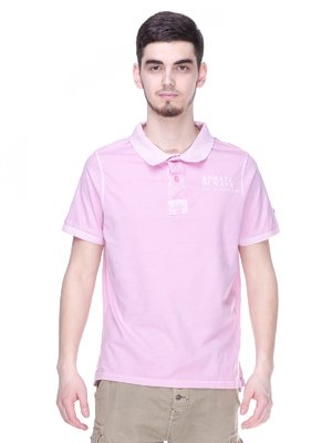 Футболка-поло розовая | 2191605