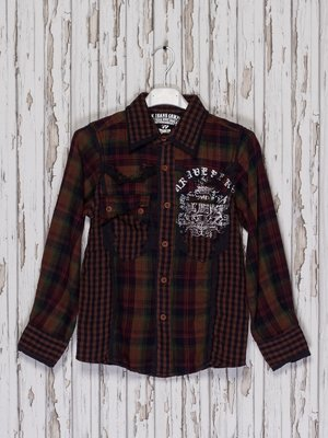 Рубашка клетчатая | 2056853