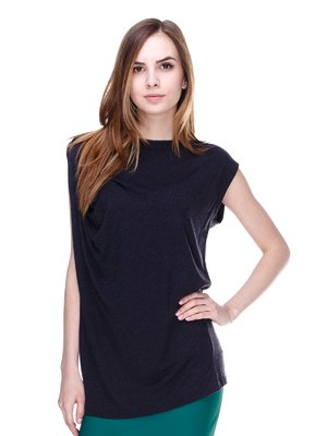 Блуза темно-серая | 2193089