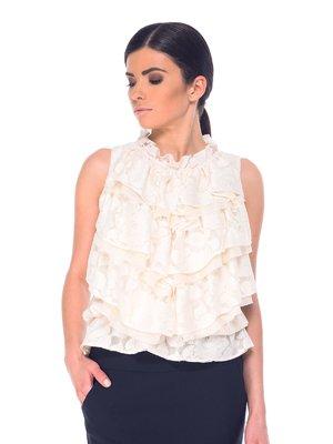 Блуза молочного цвета | 2201684