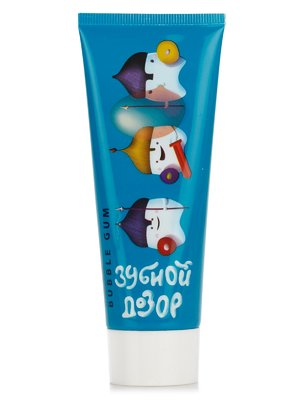 Зубна паста дитяча «Зубний дозор. Bubble Gum» (75 мл) | 2203475