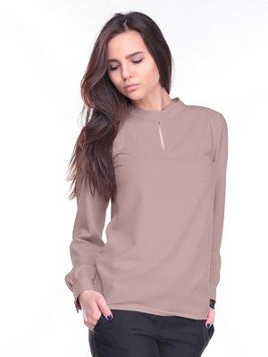 Блуза цвета мокко | 2212304
