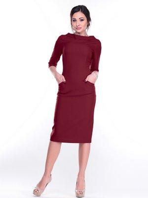 Платье сливового цвета | 2212923