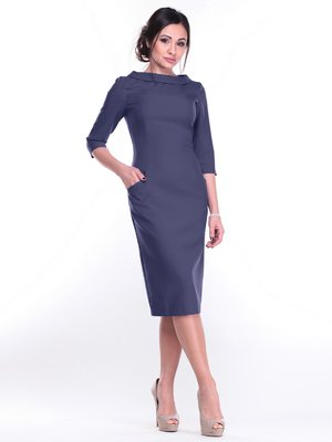 Платье темно-синее | 2212926