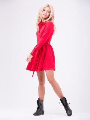 Платье красное | 2212540