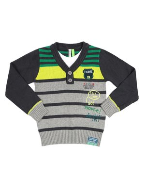 Пуловер в смужку | 2228507