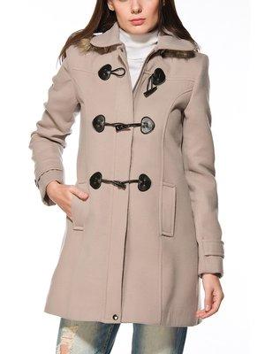 Пальто бежевое | 2218291