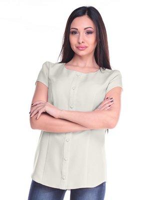 Блуза молочного цвета | 2235336