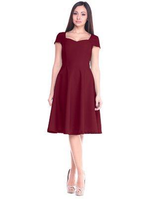Платье сливового цвета | 2235345