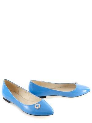 Балетки блакитні | 2241892