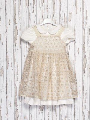 Комплект: платье и сарафан | 973750