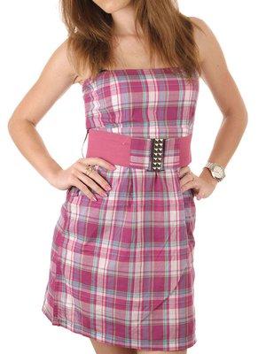 Сукня рожева у клітинку - Sublevel - 2247135