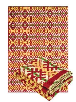 Одеяло полушерстяное (140х205 см) | 2252636