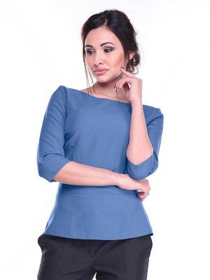 Блуза синяя | 2257579