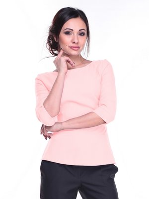 Блуза нежно-персикового цвета | 2257580