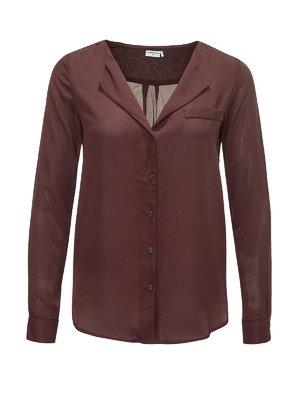 Блуза бордова | 2258529