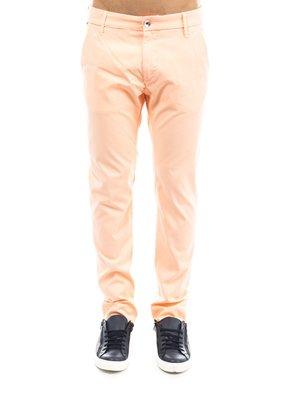 Брюки персикового цвета | 2286572