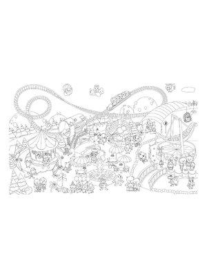 Шпалери-розмальовки «Світ чудес» (60х100 см) | 2286029