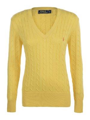 Пуловер жовтий   2295331