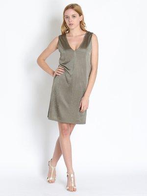 Сукня кольору хакі | 2300256