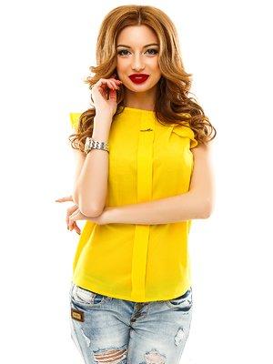 Блуза желтая   1920601